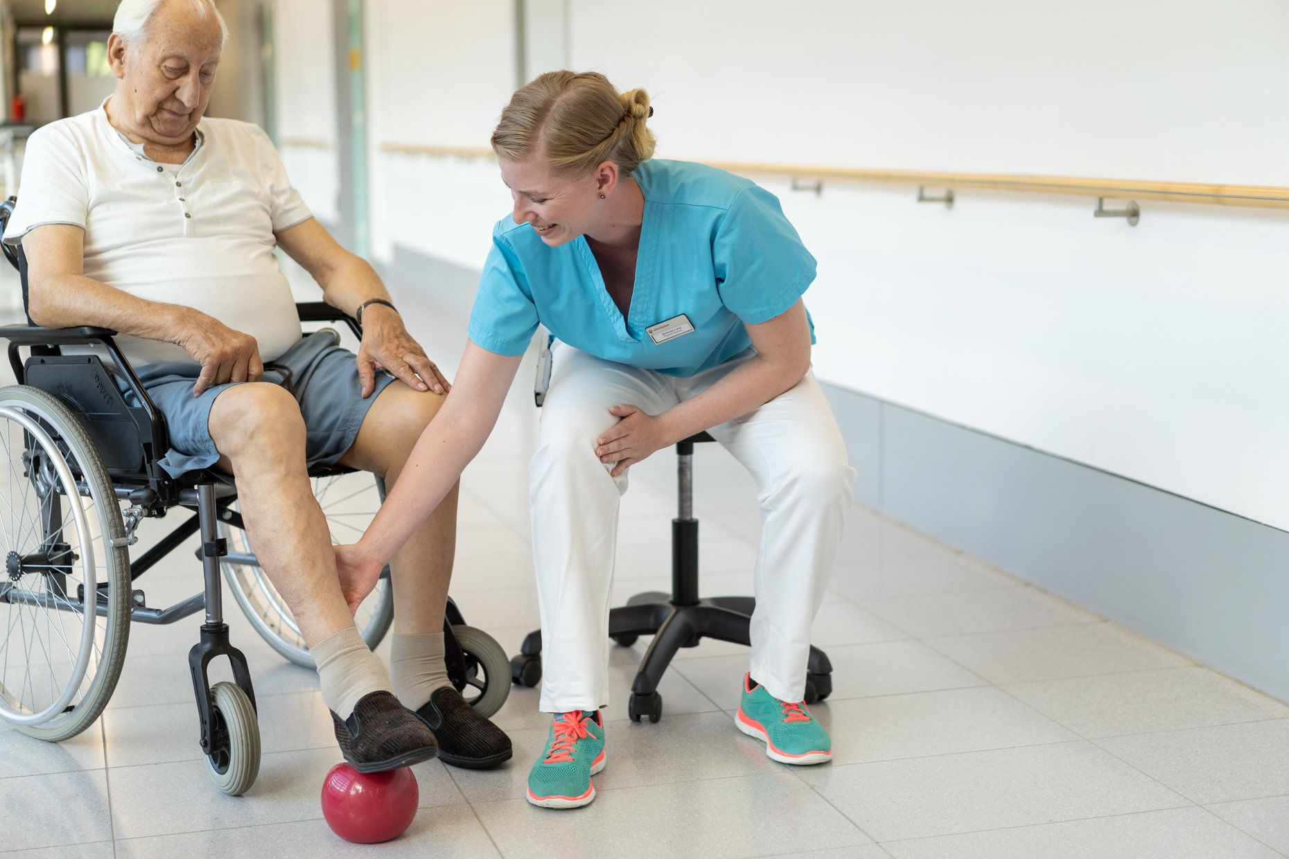 Physiotherapie in der Geriatrie